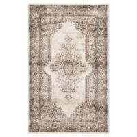 Jaipur Eisley 5' x 7'6 Area Rug in Brown/Ivory