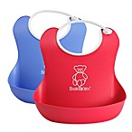 BABYBJORN® 2-Pack Soft Bib in Red/Blue