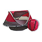 KidCo® PeaPod Infant Travel Bed in Cranberry