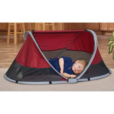 Product Image for KidCo® PeaPod Infant Travel Bed in Cranberry 3 out of  sc 1 st  Bed Bath u0026 Beyond & KidCo® PeaPod Infant Travel Bed in Cranberry - Bed Bath u0026 Beyond