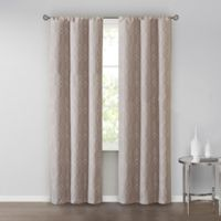 SALT™ Clancy 84-Inch Rod Pocket Window Curtain Panel Pair in Taupe