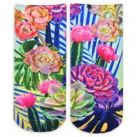 Living Royal 6-Piece Neon Wild Ankle Socks
