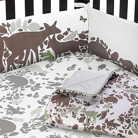 dwellstudio woodland tumble nursery collection bed bath