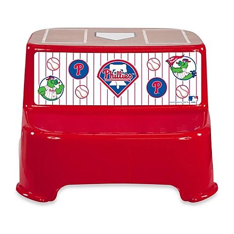 Kolcraft 174 Mlb Philadelphia Phillies Step Stool Bed Bath