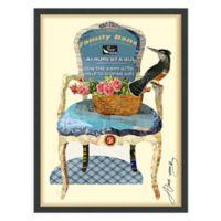 "Empire Art Direct ""Antique Chair"" Multicolor Framed Print Wall Art"