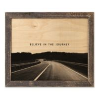 Direct Designs Believe in the Journey 12.7-Inch x 15.1-Inch Framed Canvas Wall Art