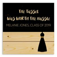 Direct Designs Tassle Worth the Hassle Wood Wall Art