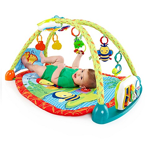 bright starts 2 in 1 convertme activity table gym buybuy baby. Black Bedroom Furniture Sets. Home Design Ideas