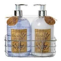Simple Pleasures® 2-Piece Lavender Hand Soap and Lotion Caddy Set
