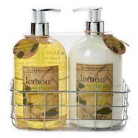 Simple Pleasures® 2-Piece Lemon Hand Soap and Lotion Caddy Set