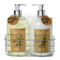 Simple Pleasures® 2-Piece Basil Hand Soap and Lotion Caddy Set