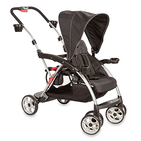 safety 1st stand on board stroller in classic black buybuy baby. Black Bedroom Furniture Sets. Home Design Ideas