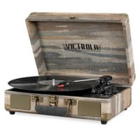 """Victrola Suitcaseturntablecz Victrola Bluetooth Suitcase Record Player Grey Grey 10.1 13.9 60"""" Cord"""