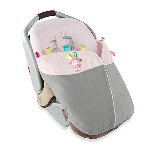 Taggies™ Snuggle & Stroll Carrier Blanket™ in Pink Monkey - buybuy BABY