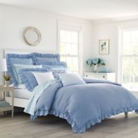 Laura Ashley® Adley Twin Duvet Set in Blue