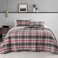 Pendleton® Glenview Reversible Full/Queen Quilt in Red/Grey