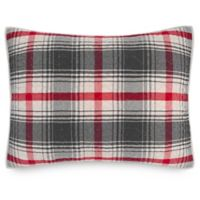 Pendleton® Glenview King Pillow Sham in Red/Grey