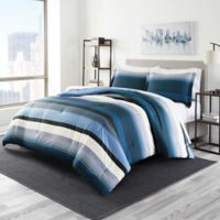 Perry Ellis® Taylor Twin Comforter Set in Denim