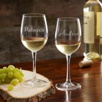 Classic Celebrations Personalized 12 oz White Wine Glass