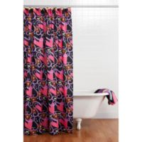 One Grace Place Sassy Shower Curtain With Hooks