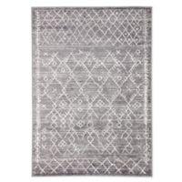Jaipur Living Copeland Trellis 8'10 x 12' Area Rug in White/Grey