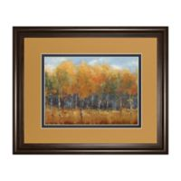 "Classy Art ""Violet Landscape"" Framed Print Wall Art"