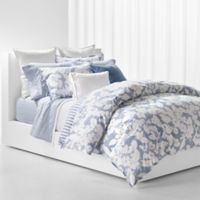 Lauren Ralph Lauren Willa Reversible Full/Queen Duvet Cover Set in Blue