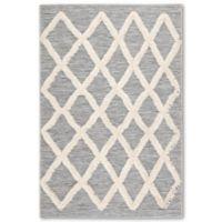 Jaipur Living Bandalier 2' x 3'7 Indoor/Outdoor Accent Rug in Grey/Cream