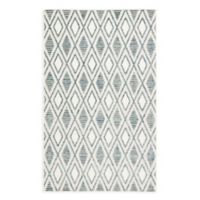 Jaipur Meira 2' x 3' Indoor/Outdoor Accent Rug in Blue/White