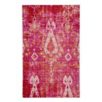 Jaipur Living Zenith Ikat 7'6 x 9'6 Indoor/Outdoor Area Rug in Pink/Orange