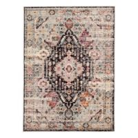Jaipur Farra 4' x 5'8 Indoor/Outdoor Area Rug in Brown/Pink