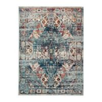 Jaipur Farra 5'3 x 7'6 Indoor/Outdoor Area Rug in Blue/Multi