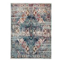 Jaipur Farra 4' x 5'8 Indoor/Outdoor Area Rug in Blue/Multi