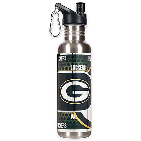 Green Bay Packers 26-Ounce Stainless Steel Water Bottle