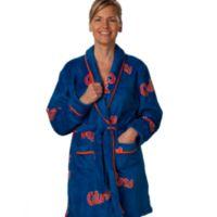 University of Florida Extra Large Ladies Fleece Bathrobe in Blue