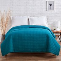 VCNY Jackson Twin Quilt in Teal