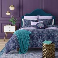 J. Queen New York™ Kayani Reversible Twin Comforter Set in Indigo