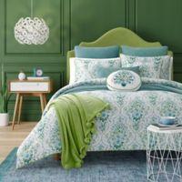 J. Queen New York™ Kayani Reversible King Comforter Set in Teal