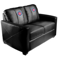 MLB Chicago Cubs Silver Loveseat