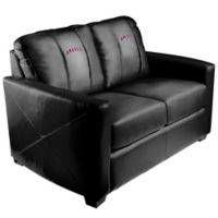 MLB Los Angeles Angels Silver Loveseat with Alternate Logo