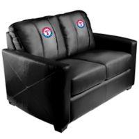 MLB Texas Rangers Silver Loveseat