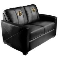 NHL Boston Bruins Silver Loveseat