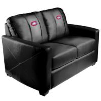 NHL Montreal Canadiens Silver Loveseat