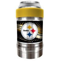 NFL Pittsburgh Steelers The LOCKER Insulated Can and Bottle Holder