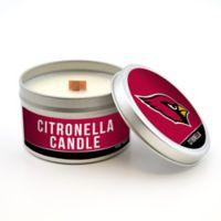 NFL Arizona Cardinals 5.8 oz. Citronella Tailgating Candle
