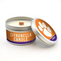 Clemson University 5.8 oz. Citronella Tailgating Candle