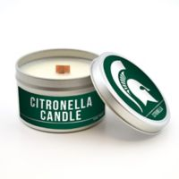 Michigan State University 5.8 oz. Citronella Tailgating Candle