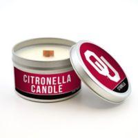 University of Oklahoma 5.8 oz. Citronella Tailgating Candle