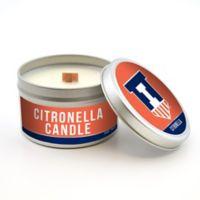 University of Illinois 5.8 oz. Citronella Tailgating Candle