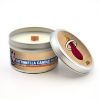 NBA Miami Heat 5.8 oz Citronella Tailgating Candle